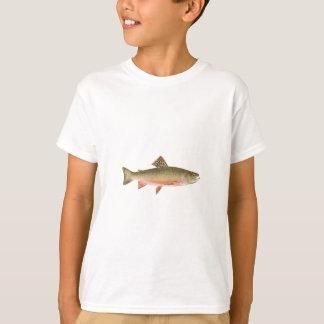 T-shirt Art de truite de ruisseau