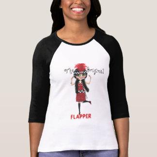 T-shirt Art déco hurlant les années 1920 de fille