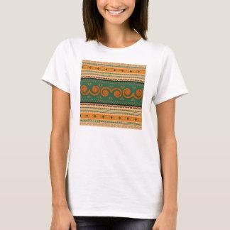 T-shirt Art décoratif de motifs   traditionnels de la