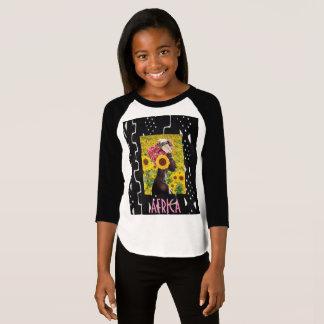 T-shirt Art populaire moderne d'Africain de style