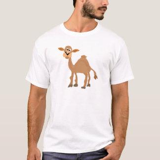 T-shirt Art primitif drôle de chameau