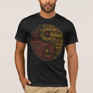 T-shirt Art spirituel de mot de Yin Yang