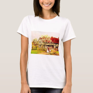 T-shirt Art vintage de jardin - Quinton, Alfred