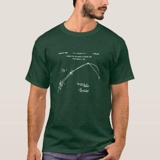 T-shirt Art vintage de pêche