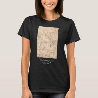 T-shirt Art vintage de waterscape de Katsushika Hokusai de