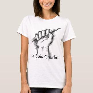 T-shirt Articles de Je Suis Charlie