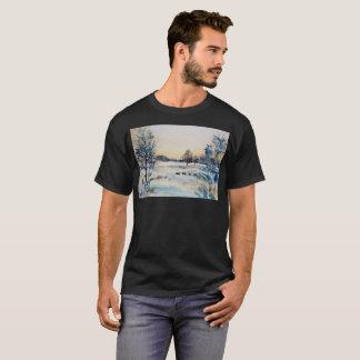 T-shirt artistique congelé