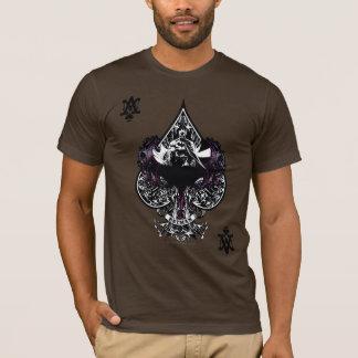 T-shirt As de Batman de crête gothique des espaces