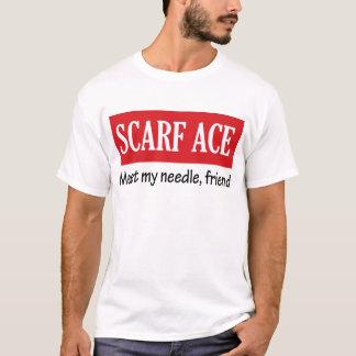 T-shirt As d'écharpe