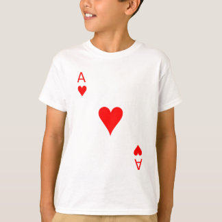 T-shirt As des coeurs (avant)