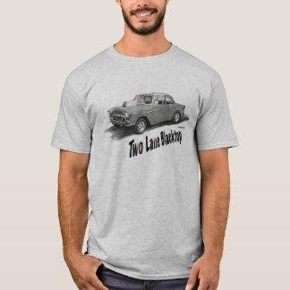 T-shirt Asphalte à deux voies '55 Chevy