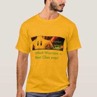 T-shirt Asphaltez la bannière de guerriers, guerriers