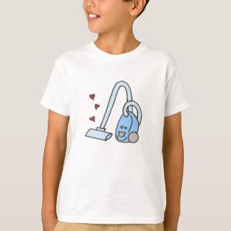 T-shirt Aspirateur avec des coeurs