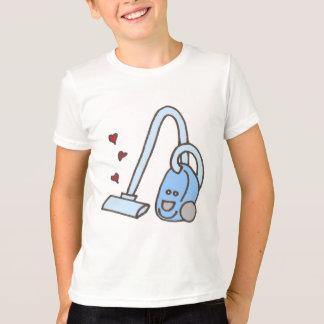 T-shirt Aspirateur avec la chemise de coeurs