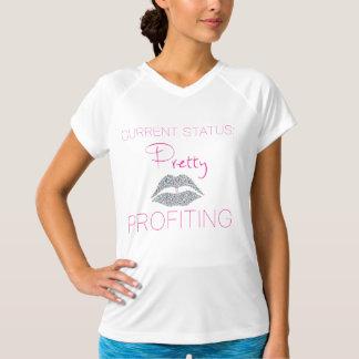 T-shirt Assez et usage actif de profit grands
