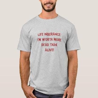 T-shirt Assurance-vie