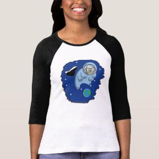 T-shirt Astro-Tardigrade de dames