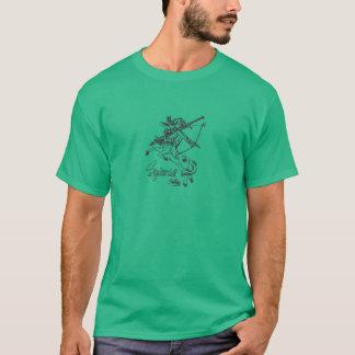 T-shirt Astrologie de zodiaque de fléchissement de dessus