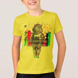T-shirt Astronaute de mission spatiale d'hippopotame