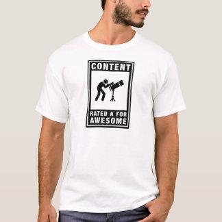 T-shirt Astronomie