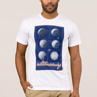 T-shirt Astronomie. Femme chemisette
