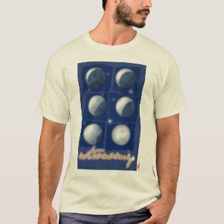 T-shirt Astronomie. Homme chemisette