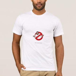 T-shirt athée de type de fantôme
