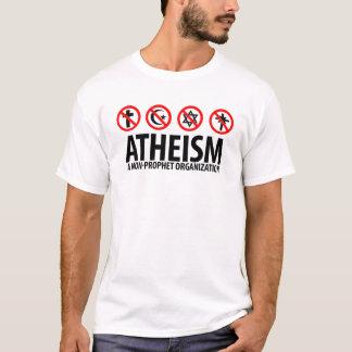 T-shirt Athéisme : Une organisation de Non-Prophète