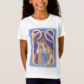 T-Shirt Athéna observée par hibou