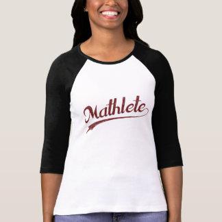 T-shirt Athlète de maths d'All Star Mathlete