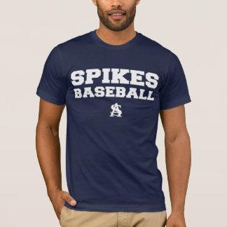 T-shirt Atlanta cloue le base-ball pour l'obscurité