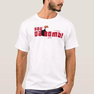 T-shirt Atomik Cie. Vous le DA bombardez !