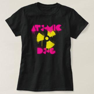 T-shirt atomique de chien