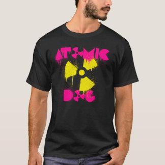 T-shirt atomique du chien des hommes