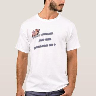 T-shirt Attaque et M.G de Pudu de spectateur