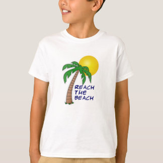 T-shirt Atteignez la collection de plage