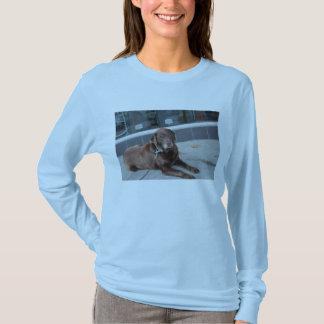 T-shirt Attente de chien