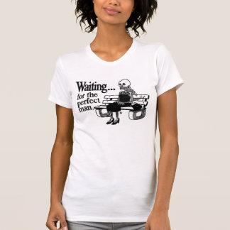 T-shirt Attente de l'homme parfait