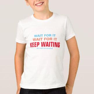 T-shirt Attente elle