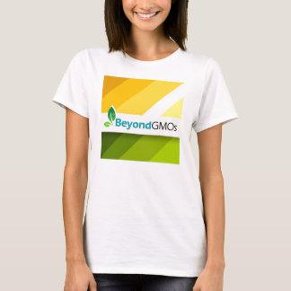 T-shirt Au delà de la chemise des femmes de campagne d'OGM
