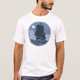 T-shirt Au-dessus du voyage de mers
