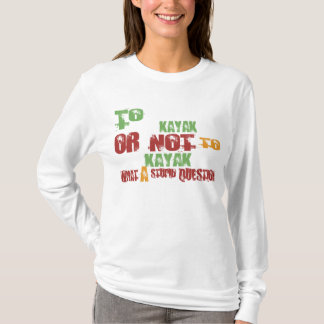 T-shirt Au kayak