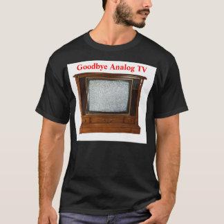T-shirt Au revoir TV analogue