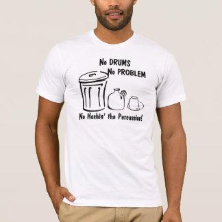 T-shirt Aucun Hushin la percussion