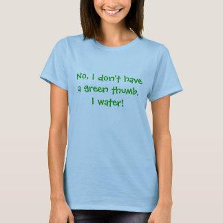 T-shirt Aucun pouce vert