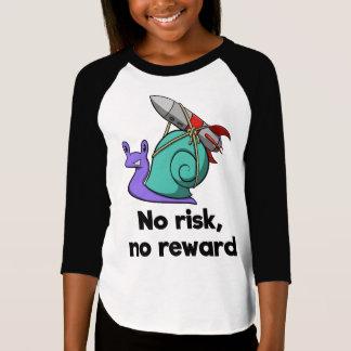 T-shirt Aucun risque, aucune récompense (enfants)