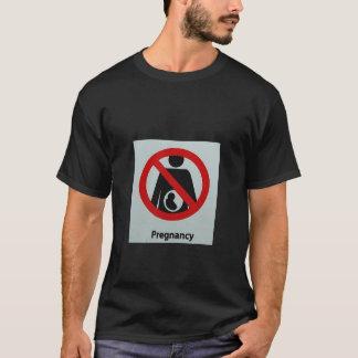 T-shirt Aucune grossesse