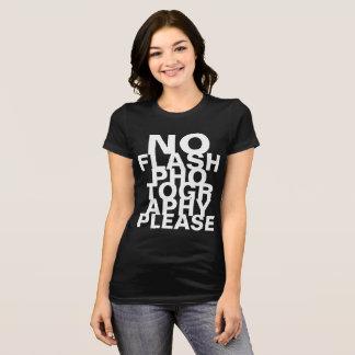 T-shirt Aucune photographie instantanée svp