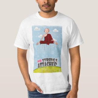 T-shirt Aucunes ficelles jointes