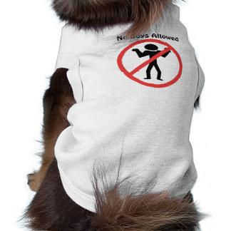 T-shirt Aucuns garçons permis
